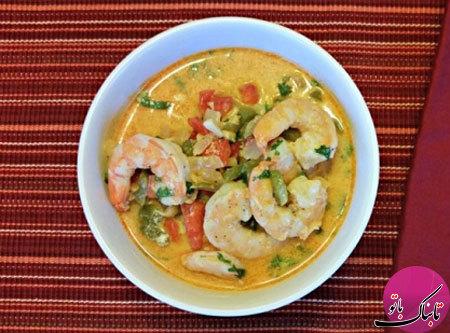 سوپ میگو و سبزیجات، لذیذ و پرخاصیت