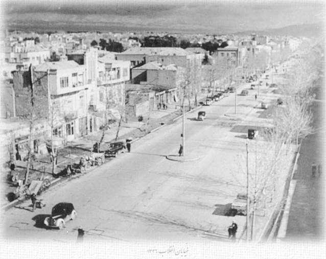 نخستین خیابان آسفالته ایران