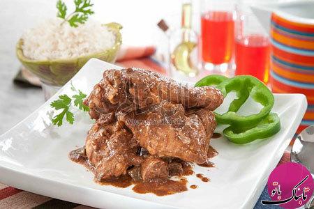 طرز تهیهی خوراک مرغ با تمر هندی
