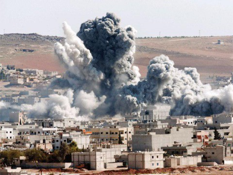 لحظه انفجار منزل علی عبدالله صالح در یمن