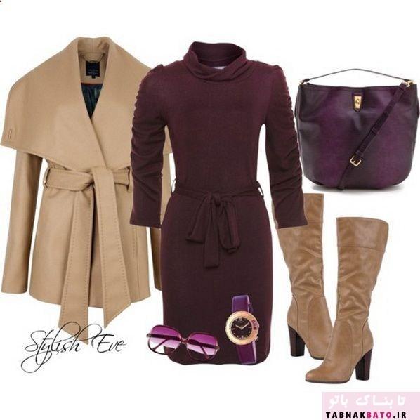 ست لباس های زنانه زمستانه