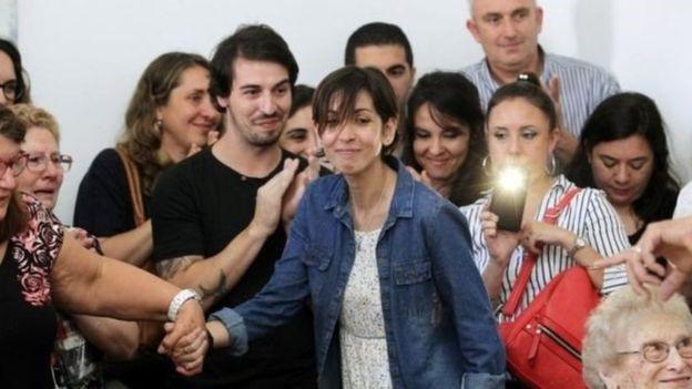 زن آرژانتینی پس از ۴۰ سال بستگانش را پیدا کرد