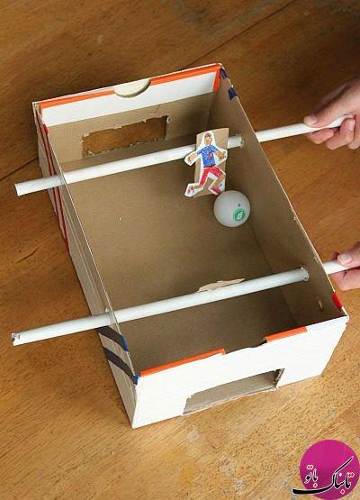 ساخت کاردستی با جعبه های کفش