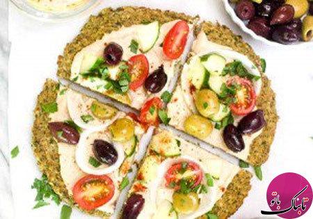 پیتزای فلافل، لذیذ و متفاوت
