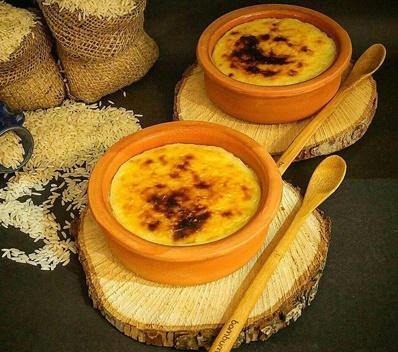 شیر برنج برای 20 نفر انواع فرنی ها و شیر برنج ها برای افطاری مناسب هستن.
