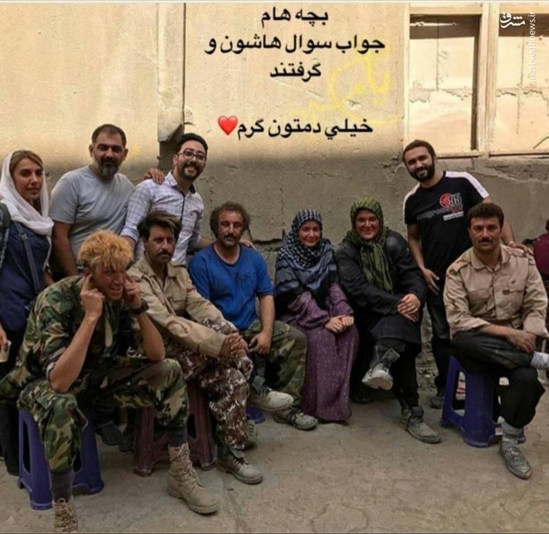 استوری همسر شهید مدافع حرم برای «پایتخت ۵»+عکس