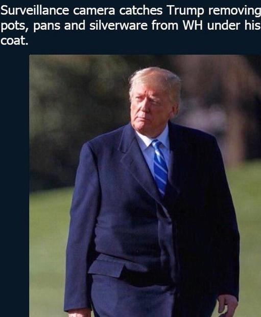 پالتوی ترامپ سوژه شد+عکس