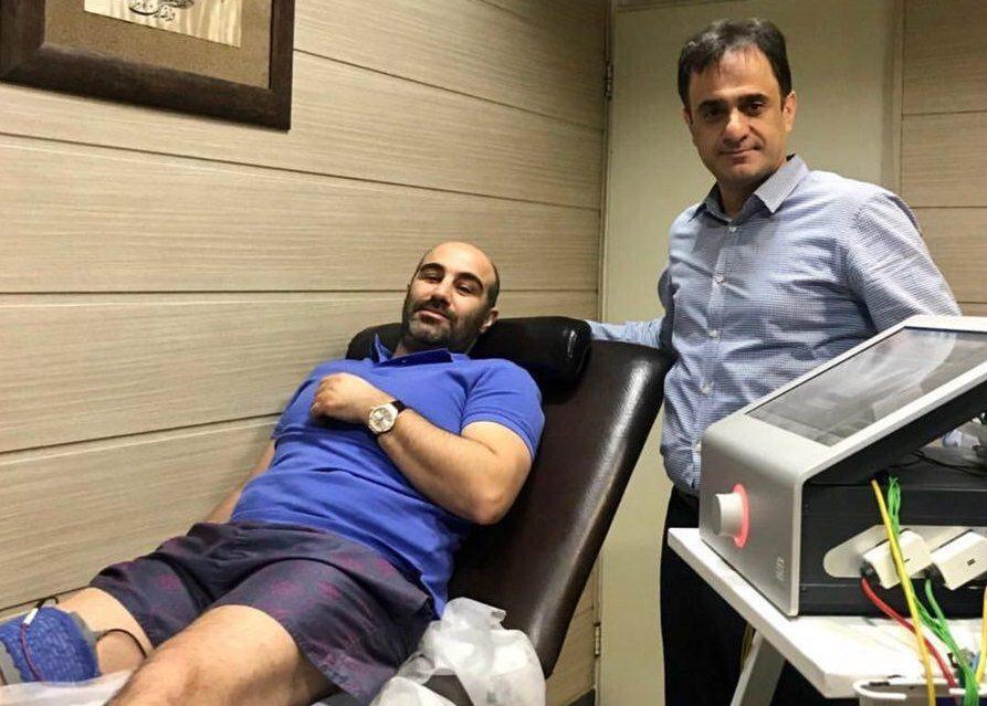 مراقبتهای بعد از عمل «محسن تنابنده» +عکس