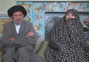 پدربزرگی با ۱۲۰ سال سن در زنجان +عکس