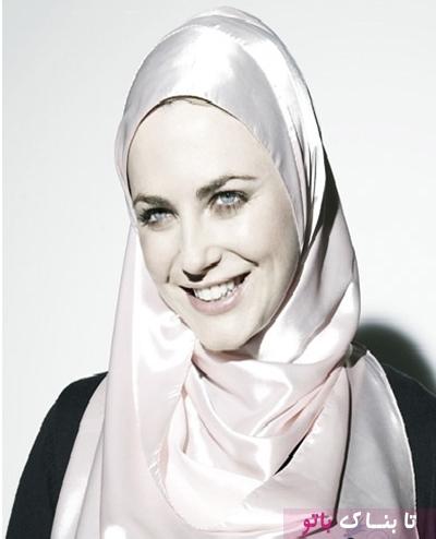 زن تازه مسلمان می گوید : دین اسلام به من قدرت داد