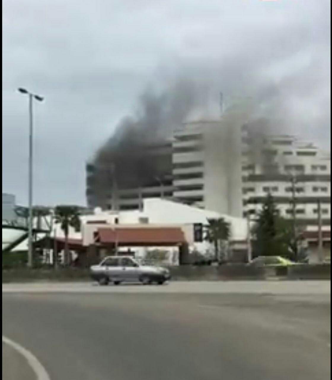 جزئیات آتش سوزی هتلی در نوشهر با یک کشته +عکس