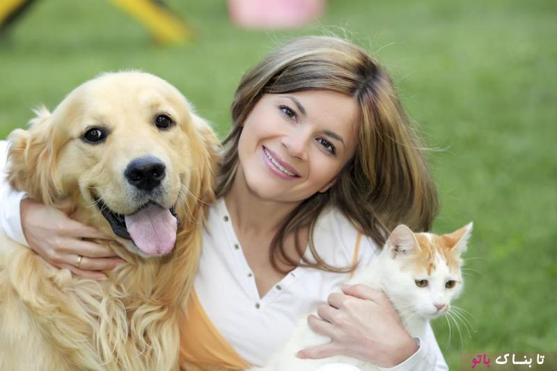 زوجی که از نظر ذهنی با حیوانات ارتباط برقرار می کنند!