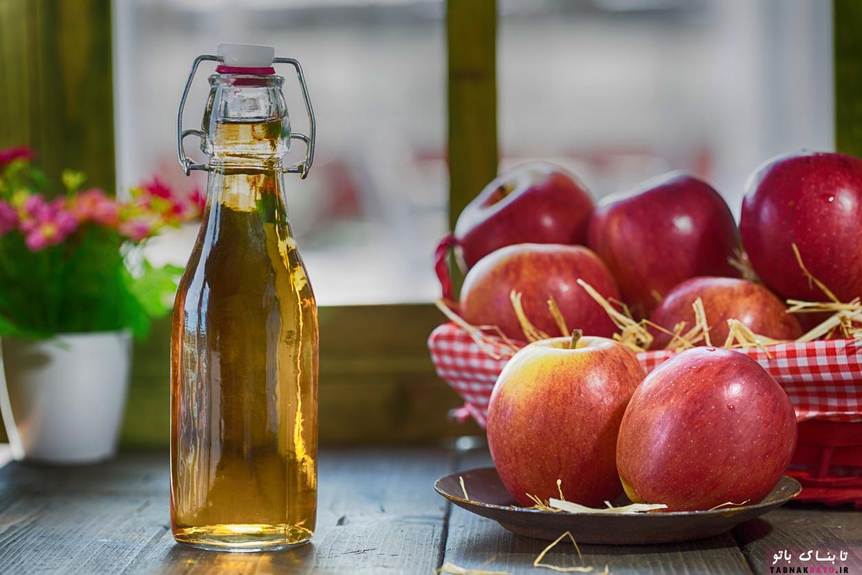 کارشناسان مصرانه از مردم می خواهند سرکه سیب خالی نخورند