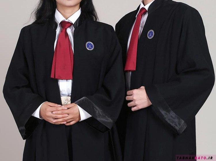 چرا لباس رسمی وکلاء مشکی است؟