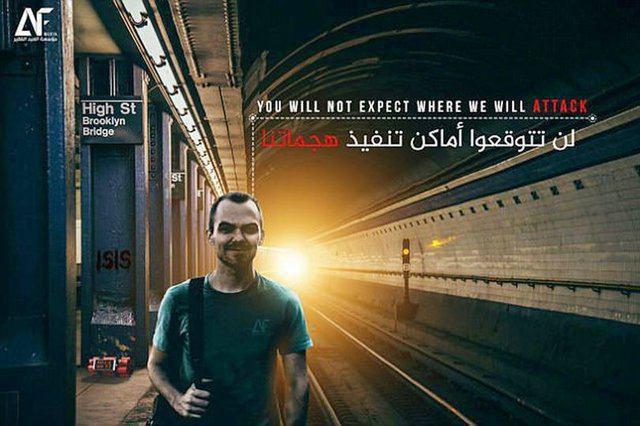 داعش تهدید به بمبگذاری در متروی نیویورک کرد +عکس