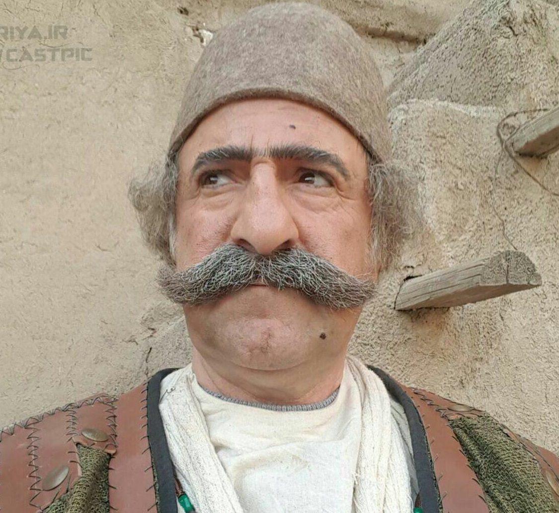 «مهران رجبی» با سیبیل چخماقی+عکس