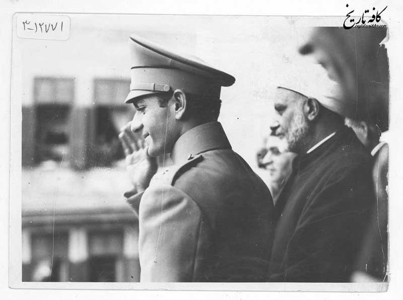 محمدرضا پهلوی در دانشگاه الازهر مصر+عکس