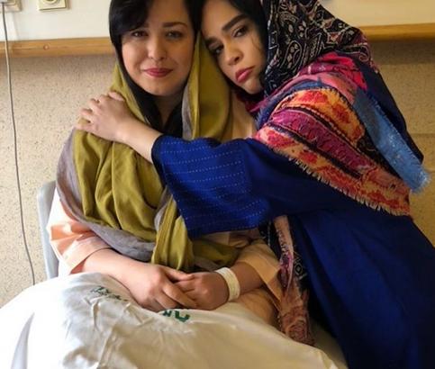 «مهراوه شریفینیا» راهی بیمارستان شد! +عکس