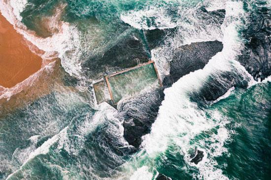عکس روز نشنال جئوگرافیک؛ ساحل سیدنی