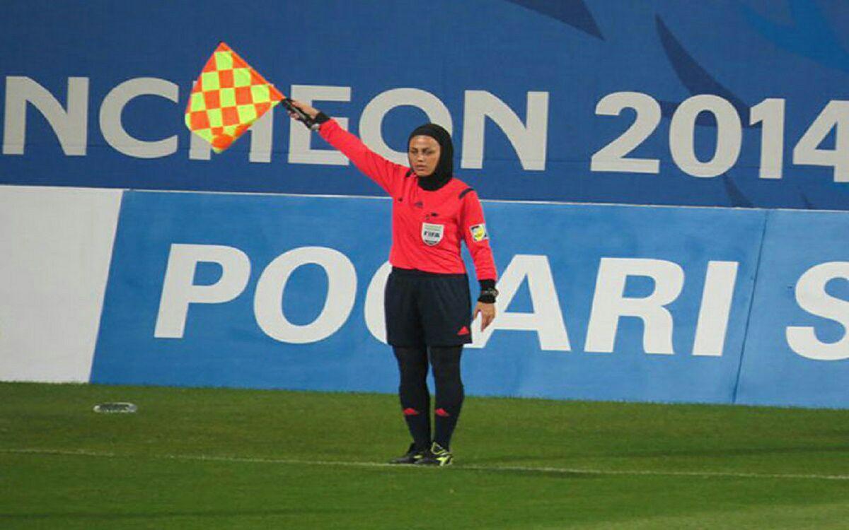 قضاوت بانوی ایرانی در ردهبندی جام ملتهای آسیا +عکس