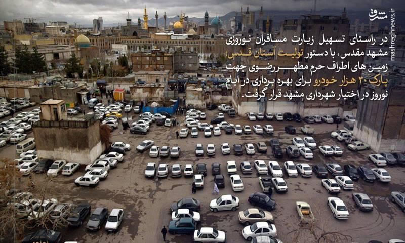 دستور ویژه رییسی درخصوص زمینهای اطراف حرم+عکس