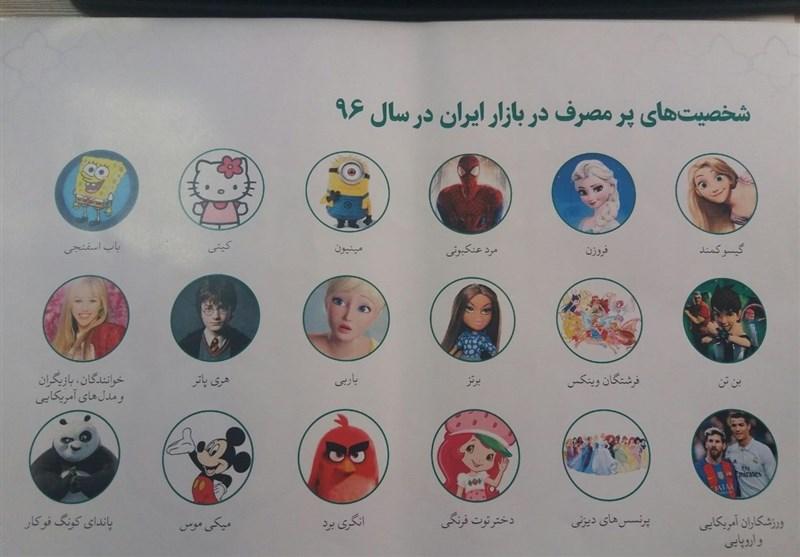 کاراکترهای خارجی محبوب در بازار نوشتافزار ایران +عکس