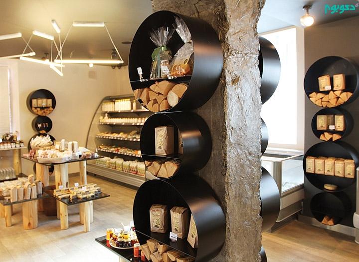طراحی فروشگاه ارگانیگ با المان هایی از طبیعت