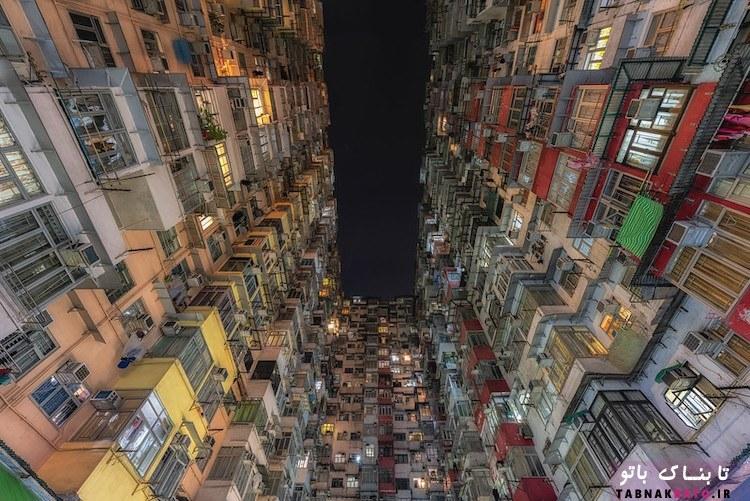 نگاهی به آسمانخراشهای هنگکنگ از دریچهی دوربین