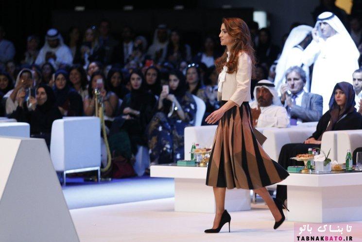 توضیح بی سابقه ملکه اردن درباره لباسهای گرانقیمتش