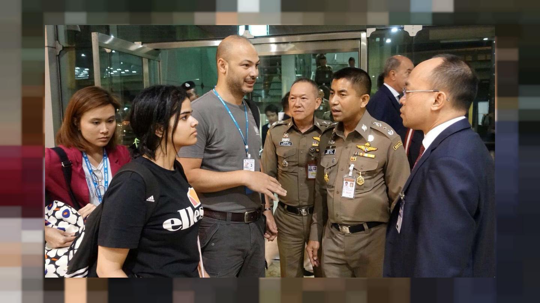 حمایت سازمان ملل از دختر عربستانی پناهجو در تایلند