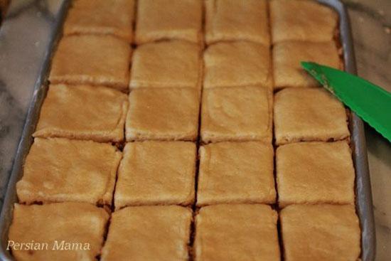 طرز تهیه کیک باقلوا، تصویری و مرحله به مرحله {hendevaneh.com}{سایتهندوانه} - 214116 331 - طرز تهیه کیک باقلوا، تصویری و مرحله به مرحله