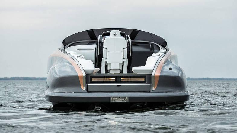 قایق تفریحی لاکچری لکسوس+عکس