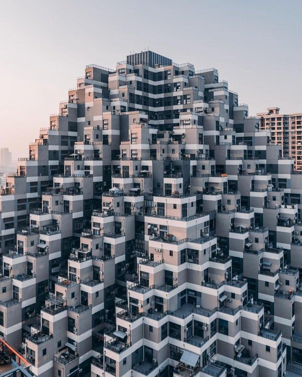 آپارتمانی متفاوت در چین +عکس