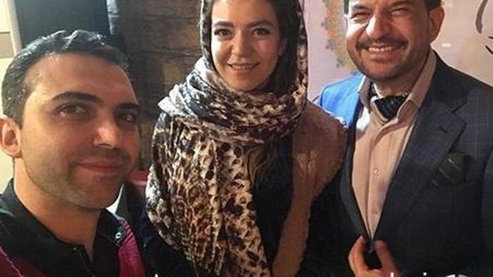 محمود شهریاری در کنار فرزندش +عکس