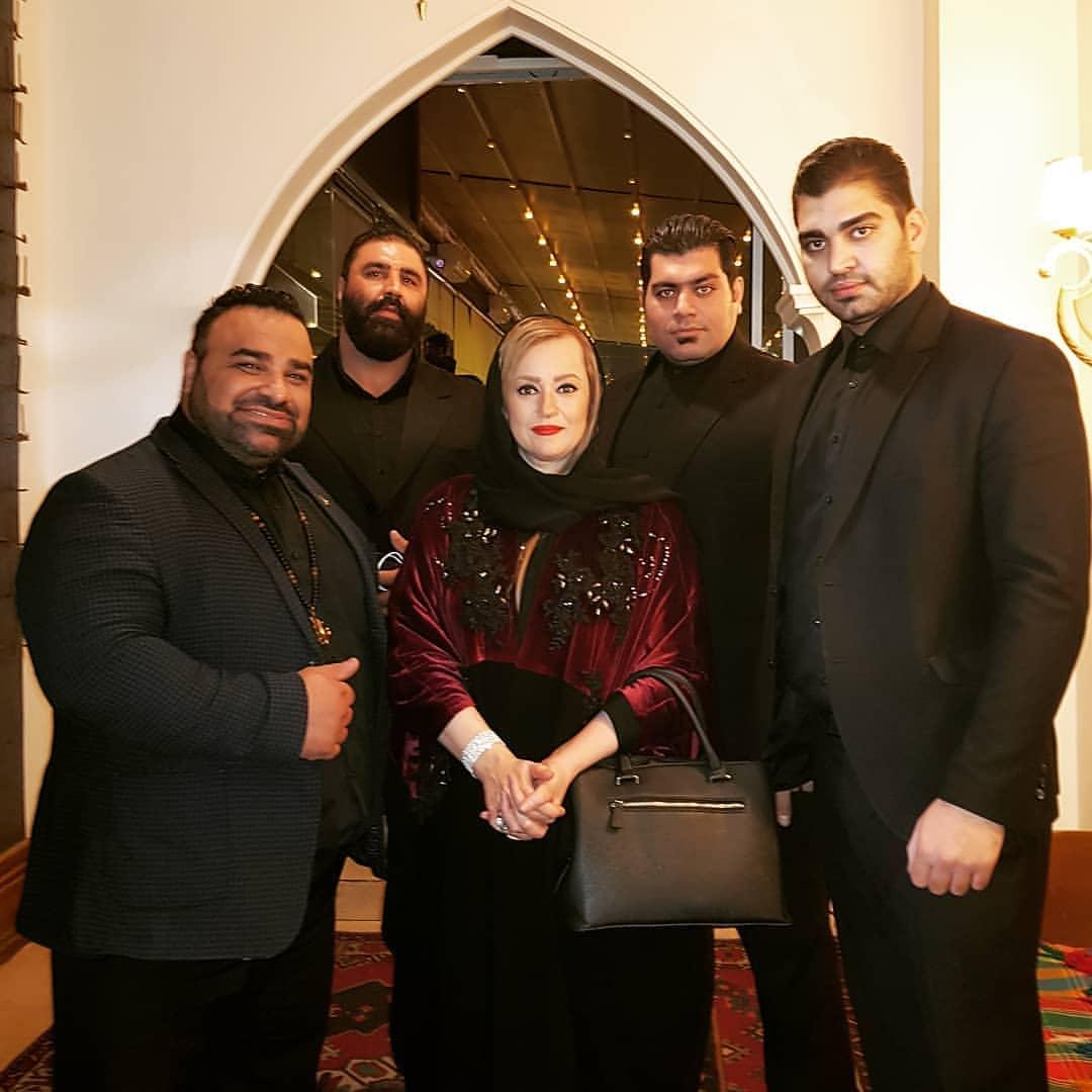 چهار بادیگارد بازیگر زن ایرانی+عکس