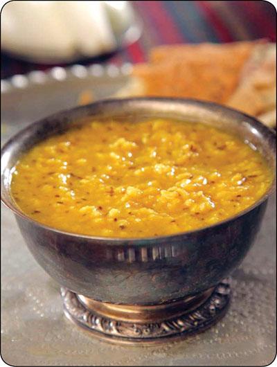 آش شوربای زیره؛ غذای محلی کرمان
