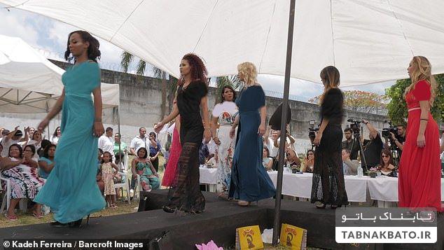 انتخاب ملکه زیبایی در زندان زنان