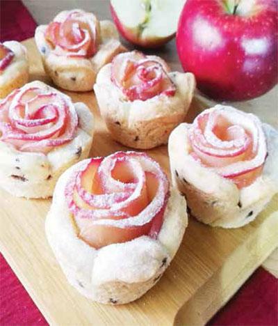 شیرینی رزت سیب؛ دسر زمستانی ایده آل!