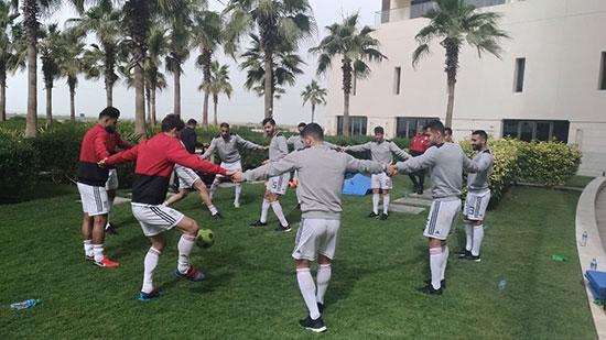 تمرین بازیکنان تیم ملی در هتل+عکس