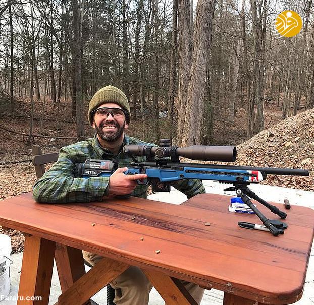 اسلحه سفارشی پسر ترامپ+عکس