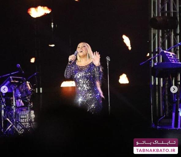 عکسهای کنسرت ماریا کری در عربستان