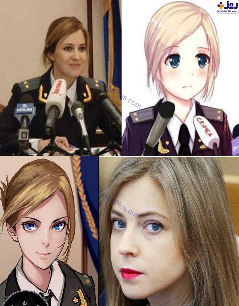 مجبوب ترین رئیس پلیس زن جهان +عکس