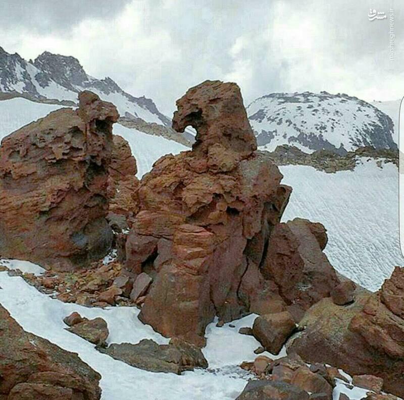 صخرهای عجیب در اردبیل+عکس