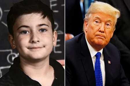 پسربچهای که قربانی همنامی با ترامپ شد+عکس