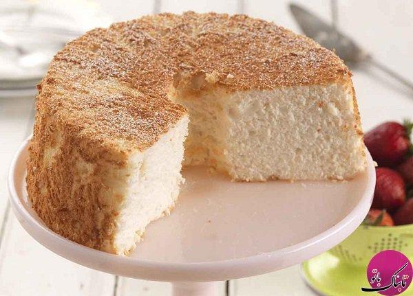 طرز تهیهی کیک بدون شیر و تخم مرغ