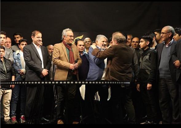 ادای احترام جالب فراستی به اسرا و عوامل فیلم «۲۳ نفر» +عکس