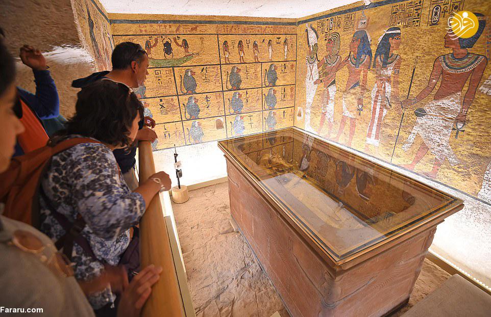 رونمایی از چهره فرعون برای نخستین بار