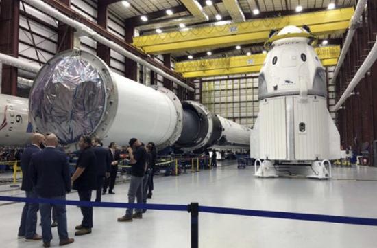 تاریخ ارسال کپسول دراگون به فضا اعلام شد