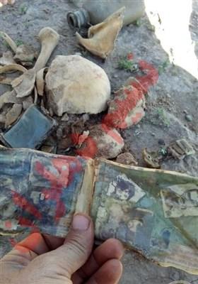 پیداشدن پیکر شهید دفاع مقدس با قمقمه پُر آب +عکس