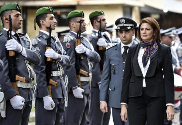 اولین وزیر کشور زن در تاریخ لبنان +عکس